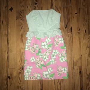 Lilly Pulitzer Peplum Dress
